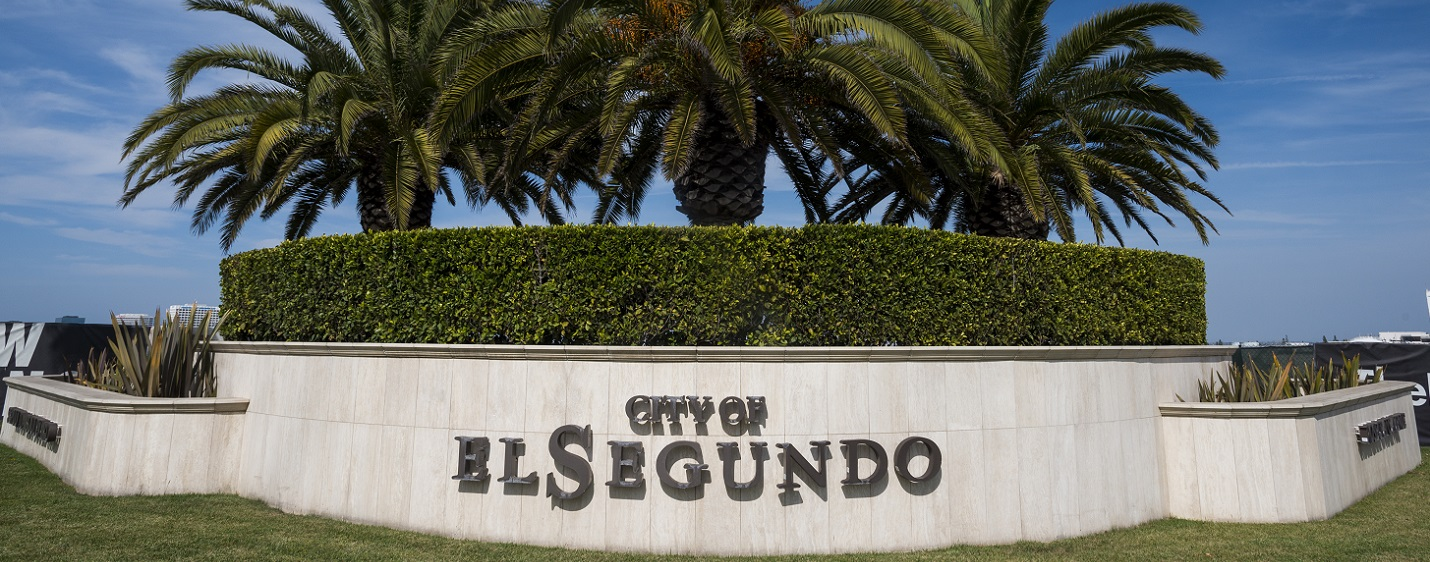 City of El Segundo Sign