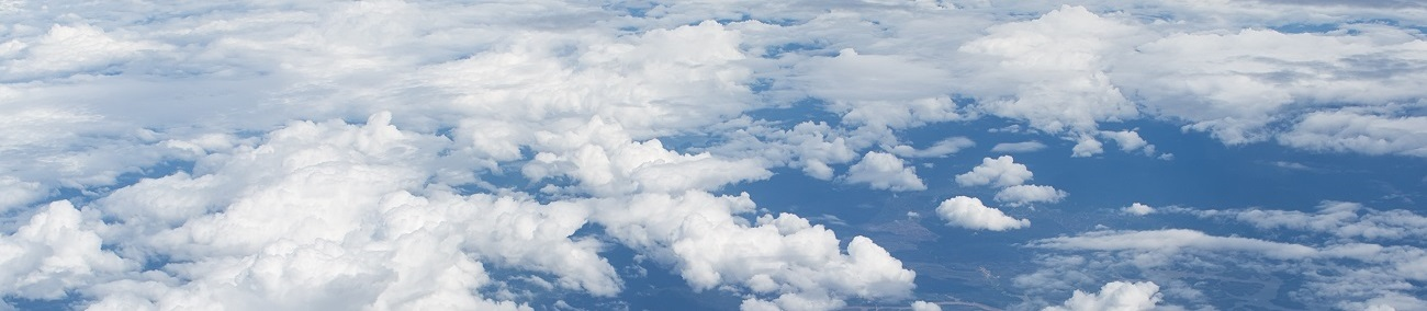 Above the Clouds Stock Banner